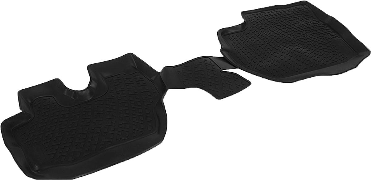Коврики в салон автомобиля L.Locker, для Hyundai Porter II (09-), 2 шт0204170101Коврики L.Locker производятся индивидуально для каждой модели автомобиля из современного и экологически чистого материала. Изделия точно повторяют геометрию пола автомобиля, имеют высокий борт, обладают повышенной износоустойчивостью, антискользящими свойствами, лишены резкого запаха и сохраняют свои потребительские свойства в широком диапазоне температур (от -50°С до +80°С). Рисунок ковриков специально спроектирован для уменьшения скольжения ног водителя и имеет достаточную глубину, препятствующую свободному перемещению жидкости и грязи на поверхности. Одновременно с этим рисунок не создает дискомфорта при вождении автомобиля. Водительский ковер с предустановленными креплениями фиксируется на штатные места в полу салона автомобиля. Новая технология системы креплений герметична, не дает влаге и грязи проникать внутрь через крепеж на обшивку пола.