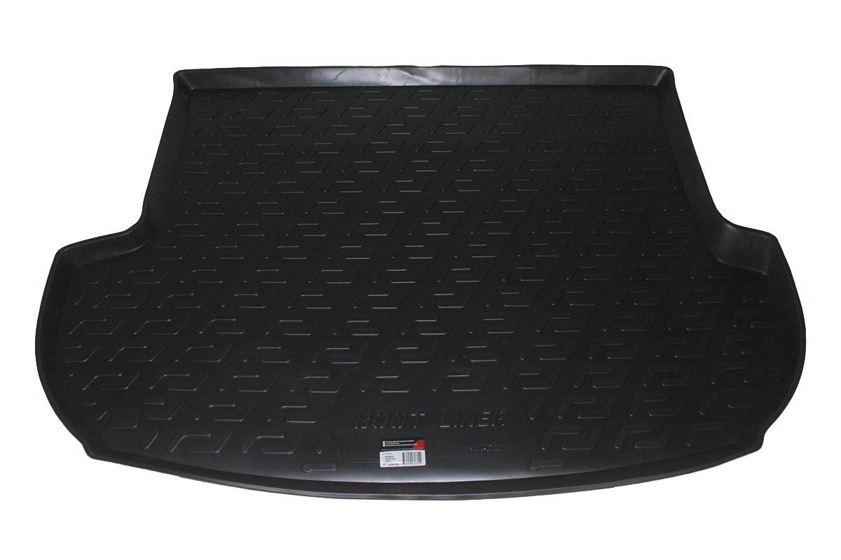 Коврик в багажник Hyundai Santa Fe II (10-) полиуретан0104070301Коврики производятся индивидуально для каждой модели автомобиля из современного и экологически чистого материала, точно повторяют геометрию пола автомобиля, имеют высокий борт от 4 см до 6 см., обладают повышенной износоустойчивостью, антискользящими свойствами, лишены резкого запаха, сохраняют свои потребительские свойства в широком диапазоне температур (-50 +80 С).