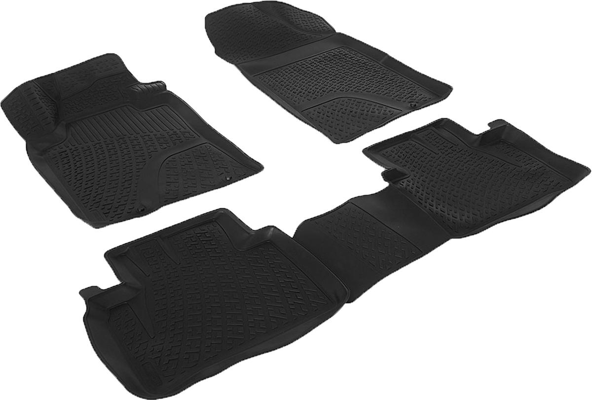 Коврики в салон автомобиля L.Locker, для Nissan Teana sd III (13-), 4 шт0205110301Коврики L.Locker производятся индивидуально для каждой модели автомобиля из современного и экологически чистого материала. Изделия точно повторяют геометрию пола автомобиля, имеют высокий борт, обладают повышенной износоустойчивостью, антискользящими свойствами, лишены резкого запаха и сохраняют свои потребительские свойства в широком диапазоне температур (от -50°С до +80°С). Рисунок ковриков специально спроектирован для уменьшения скольжения ног водителя и имеет достаточную глубину, препятствующую свободному перемещению жидкости и грязи на поверхности. Одновременно с этим рисунок не создает дискомфорта при вождении автомобиля. Водительский ковер с предустановленными креплениями фиксируется на штатные места в полу салона автомобиля. Новая технология системы креплений герметична, не дает влаге и грязи проникать внутрь через крепеж на обшивку пола.