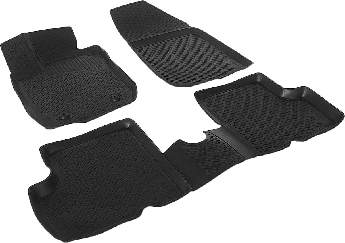Коврики в салон автомобиля L.Locker, для Renault Duster 2WD (10-), 4 шт0206010201Коврики L.Locker производятся индивидуально для каждой модели автомобиля из современного и экологически чистого материала. Изделия точно повторяют геометрию пола автомобиля, имеют высокий борт, обладают повышенной износоустойчивостью, антискользящими свойствами, лишены резкого запаха и сохраняют свои потребительские свойства в широком диапазоне температур (от -50°С до +80°С). Рисунок ковриков специально спроектирован для уменьшения скольжения ног водителя и имеет достаточную глубину, препятствующую свободному перемещению жидкости и грязи на поверхности. Одновременно с этим рисунок не создает дискомфорта при вождении автомобиля. Водительский ковер с предустановленными креплениями фиксируется на штатные места в полу салона автомобиля. Новая технология системы креплений герметична, не дает влаге и грязи проникать внутрь через крепеж на обшивку пола.