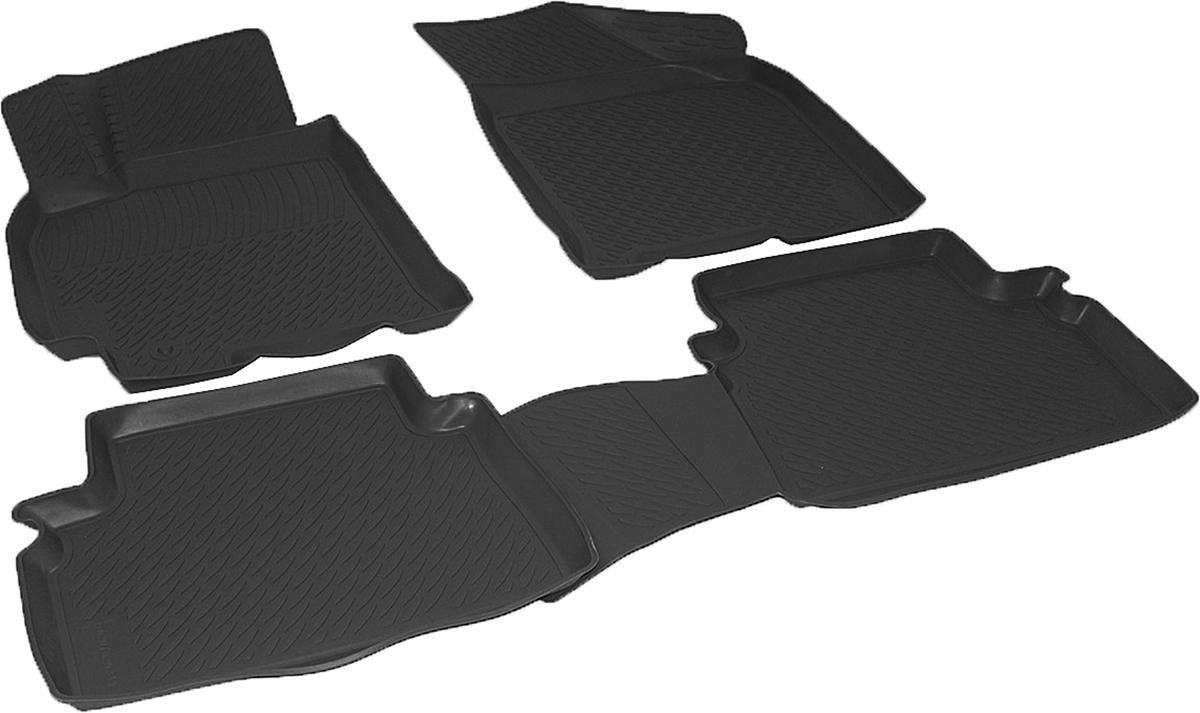 Коврики в салон автомобиля L.Locker, для Chevrolet Lacetti (04-)0207020201Коврики L.Locker производятся индивидуально для каждой модели автомобиля из современного и экологически чистого материала. Изделия точно повторяют геометрию пола автомобиля, имеют высокий борт, обладают повышенной износоустойчивостью, антискользящими свойствами, лишены резкого запаха и сохраняют свои потребительские свойства в широком диапазоне температур (от -50°С до +80°С). Рисунок ковриков специально спроектирован для уменьшения скольжения ног водителя и имеет достаточную глубину, препятствующую свободному перемещению жидкости и грязи на поверхности. Одновременно с этим рисунок не создает дискомфорта при вождении автомобиля. Водительский ковер с предустановленными креплениями фиксируется на штатные места в полу салона автомобиля. Новая технология системы креплений герметична, не дает влаге и грязи проникать внутрь через крепеж на обшивку пола.