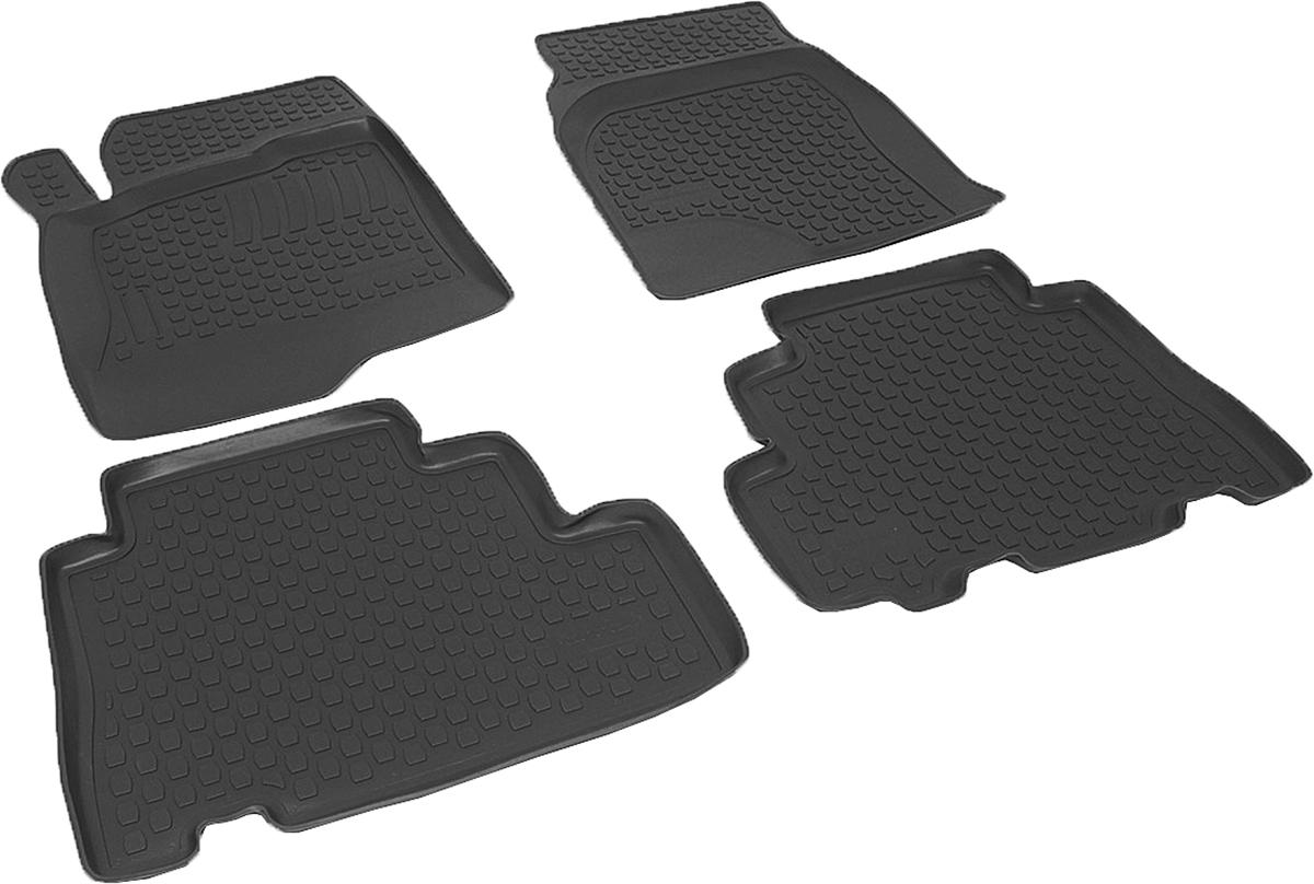 Коврики в салон автомобиля L.Locker, для Chevrolet Captiva (06-), 4 шт0207070201Коврики L.Locker производятся индивидуально для каждой модели автомобиля из современного и экологически чистого материала. Изделия точно повторяют геометрию пола автомобиля, имеют высокий борт, обладают повышенной износоустойчивостью, антискользящими свойствами, лишены резкого запаха и сохраняют свои потребительские свойства в широком диапазоне температур (от -50°С до +80°С). Рисунок ковриков специально спроектирован для уменьшения скольжения ног водителя и имеет достаточную глубину, препятствующую свободному перемещению жидкости и грязи на поверхности. Одновременно с этим рисунок не создает дискомфорта при вождении автомобиля. Водительский ковер с предустановленными креплениями фиксируется на штатные места в полу салона автомобиля. Новая технология системы креплений герметична, не дает влаге и грязи проникать внутрь через крепеж на обшивку пола.