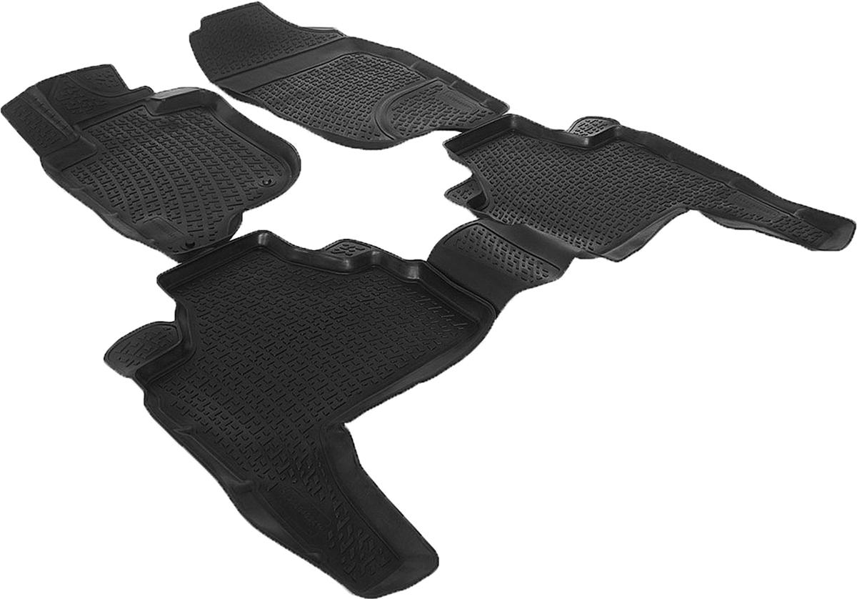 Коврики в салон 3D Mitsubishi Pajero Sport II (08-) полиуретан0208040301Коврики производятся индивидуально для каждой модели автомобиля из современного и экологически чистого материала, точно повторяют геометрию пола автомобиля, имеют высокий борт от 3 см до 4 см., обладают повышенной износоустойчивостью, антискользящими свойствами, лишены резкого запаха, сохраняют свои потребительские свойства в широком диапазоне температур (-50 +80 С)