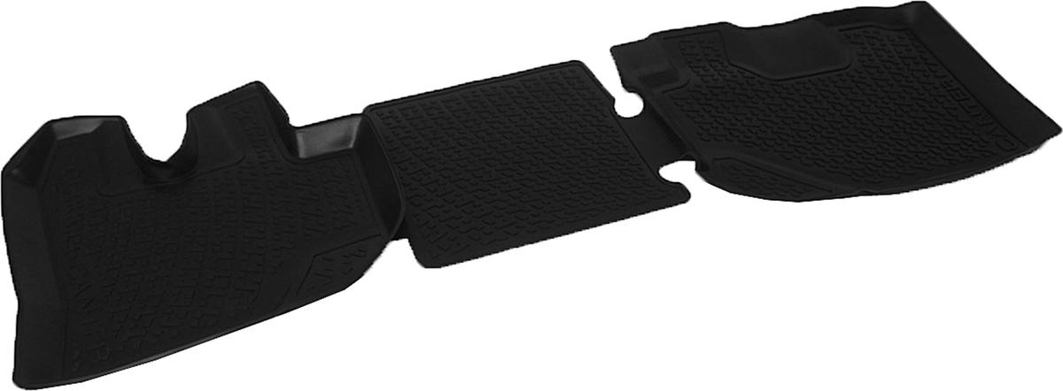 Коврики в салон автомобиля L.Locker, для Mitsubishi Fuso Canter (10-), передние0208090101Коврики L.Locker производятся индивидуально для каждой модели автомобиля из современного и экологически чистого материала. Изделия точно повторяют геометрию пола автомобиля, имеют высокий борт, обладают повышенной износоустойчивостью, антискользящими свойствами, лишены резкого запаха и сохраняют свои потребительские свойства в широком диапазоне температур (от -50°С до +80°С). Рисунок ковриков специально спроектирован для уменьшения скольжения ног водителя и имеет достаточную глубину, препятствующую свободному перемещению жидкости и грязи на поверхности. Одновременно с этим рисунок не создает дискомфорта при вождении автомобиля. Водительский ковер с предустановленными креплениями фиксируется на штатные места в полу салона автомобиля. Новая технология системы креплений герметична, не дает влаге и грязи проникать внутрь через крепеж на обшивку пола.
