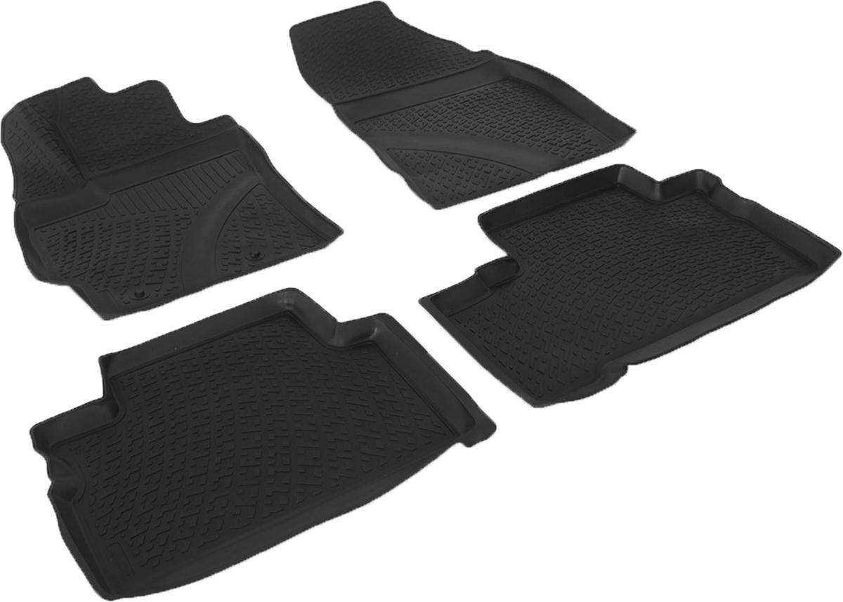 Коврики в салон автомобиля L.Locker, для Toyota Verso II (12-)0209100201Коврики L.Locker производятся индивидуально для каждой модели автомобиля из современного и экологически чистого материала. Изделия точно повторяют геометрию пола автомобиля, имеют высокий борт, обладают повышенной износоустойчивостью, антискользящими свойствами, лишены резкого запаха и сохраняют свои потребительские свойства в широком диапазоне температур (от -50°С до +80°С). Рисунок ковриков специально спроектирован для уменьшения скольжения ног водителя и имеет достаточную глубину, препятствующую свободному перемещению жидкости и грязи на поверхности. Одновременно с этим рисунок не создает дискомфорта при вождении автомобиля. Водительский ковер с предустановленными креплениями фиксируется на штатные места в полу салона автомобиля. Новая технология системы креплений герметична, не дает влаге и грязи проникать внутрь через крепеж на обшивку пола.