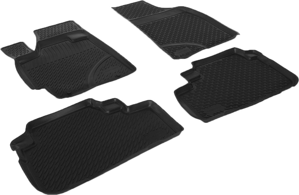 Коврики в салон автомобиля L.Locker, для Toyota Highlander II (07-), 4 шт0209110101Коврики L.Locker производятся индивидуально для каждой модели автомобиля из современного и экологически чистого материала. Изделия точно повторяют геометрию пола автомобиля, имеют высокий борт, обладают повышенной износоустойчивостью, антискользящими свойствами, лишены резкого запаха и сохраняют свои потребительские свойства в широком диапазоне температур (от -50°С до +80°С). Рисунок ковриков специально спроектирован для уменьшения скольжения ног водителя и имеет достаточную глубину, препятствующую свободному перемещению жидкости и грязи на поверхности. Одновременно с этим рисунок не создает дискомфорта при вождении автомобиля. Водительский ковер с предустановленными креплениями фиксируется на штатные места в полу салона автомобиля. Новая технология системы креплений герметична, не дает влаге и грязи проникать внутрь через крепеж на обшивку пола.
