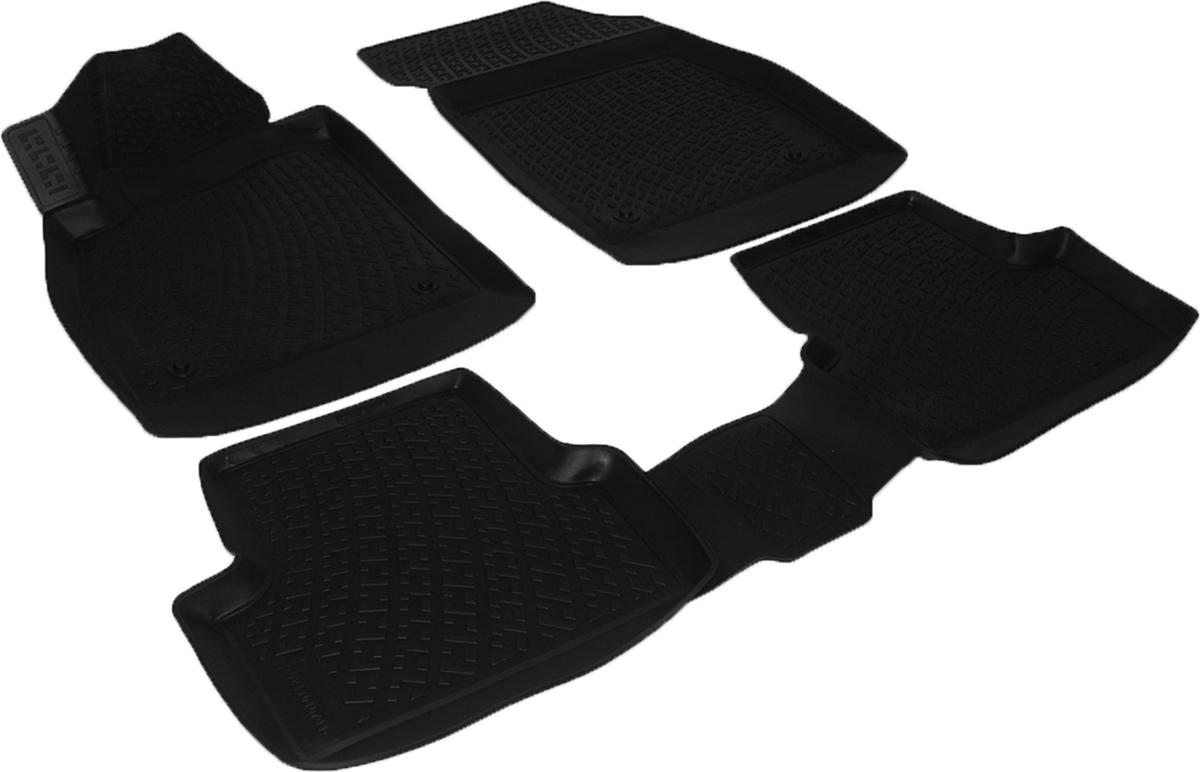 Коврики в салон автомобиля L.Locker, для Opel Astra J GTC (11-), 3 шт0211010701Коврики L.Locker производятся индивидуально для каждой модели автомобиля из современного и экологически чистого материала. Изделия точно повторяют геометрию пола автомобиля, имеют высокий борт, обладают повышенной износоустойчивостью, антискользящими свойствами, лишены резкого запаха и сохраняют свои потребительские свойства в широком диапазоне температур (от -50°С до +80°С). Рисунок ковриков специально спроектирован для уменьшения скольжения ног водителя и имеет достаточную глубину, препятствующую свободному перемещению жидкости и грязи на поверхности. Одновременно с этим рисунок не создает дискомфорта при вождении автомобиля. Водительский ковер с предустановленными креплениями фиксируется на штатные места в полу салона автомобиля. Новая технология системы креплений герметична, не дает влаге и грязи проникать внутрь через крепеж на обшивку пола.