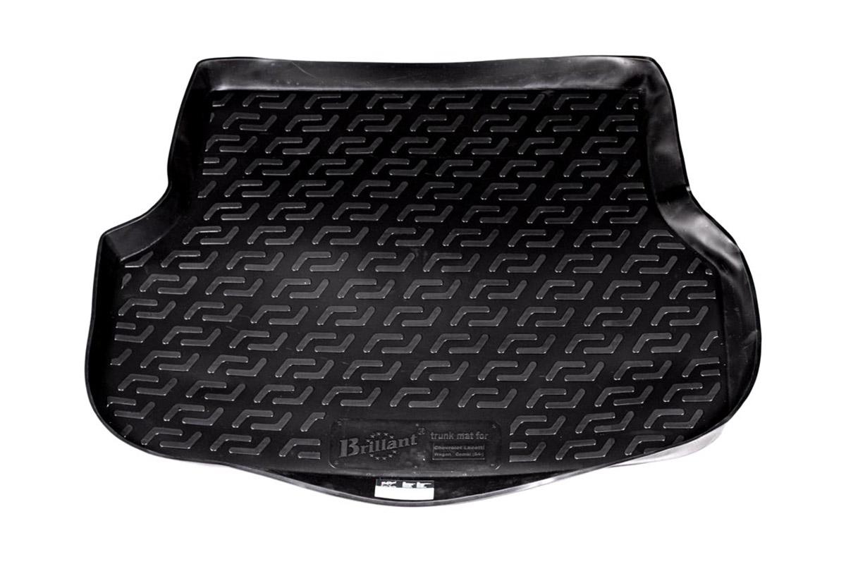 Коврик в багажник L.Locker, для Chevrolet Lacetti wg (04-)0107020301Коврик L.Locker производится индивидуально для каждой модели автомобиля из современного и экологически чистого материала. Изделие точно повторяют геометрию пола автомобиля, имеет высокий борт, обладает повышенной износоустойчивостью, антискользящими свойствами, лишен резкого запаха и сохраняет свои потребительские свойства в широком диапазоне температур (от -50°С до +80°С).