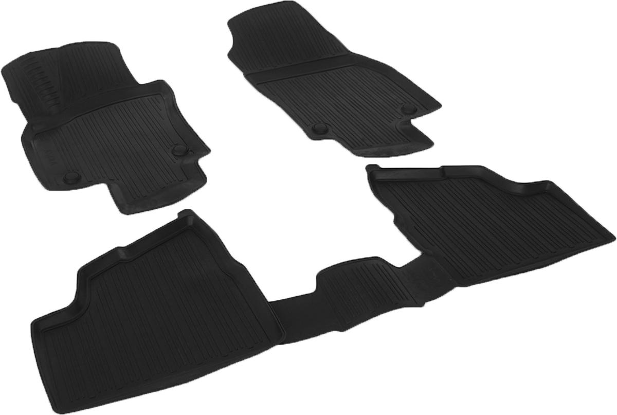 Коврики в салон автомобиля L.Locker, для Opel Astra Н sd (07-), 3 шт0211011001Коврики L.Locker производятся индивидуально для каждой модели автомобиля из современного и экологически чистого материала. Изделия точно повторяют геометрию пола автомобиля, имеют высокий борт, обладают повышенной износоустойчивостью, антискользящими свойствами, лишены резкого запаха и сохраняют свои потребительские свойства в широком диапазоне температур (от -50°С до +80°С). Рисунок ковриков специально спроектирован для уменьшения скольжения ног водителя и имеет достаточную глубину, препятствующую свободному перемещению жидкости и грязи на поверхности. Одновременно с этим рисунок не создает дискомфорта при вождении автомобиля. Водительский ковер с предустановленными креплениями фиксируется на штатные места в полу салона автомобиля. Новая технология системы креплений герметична, не дает влаге и грязи проникать внутрь через крепеж на обшивку пола.