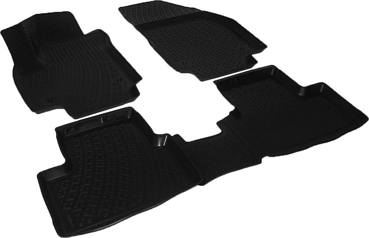 Коврики в салон автомобиля L.Locker, для Opel Meriva (02-), 4 шт0211050101Коврики L.Locker производятся индивидуально для каждой модели автомобиля из современного и экологически чистого материала. Изделия точно повторяют геометрию пола автомобиля, имеют высокий борт, обладают повышенной износоустойчивостью, антискользящими свойствами, лишены резкого запаха и сохраняют свои потребительские свойства в широком диапазоне температур (от -50°С до +80°С). Рисунок ковриков специально спроектирован для уменьшения скольжения ног водителя и имеет достаточную глубину, препятствующую свободному перемещению жидкости и грязи на поверхности. Одновременно с этим рисунок не создает дискомфорта при вождении автомобиля. Водительский ковер с предустановленными креплениями фиксируется на штатные места в полу салона автомобиля. Новая технология системы креплений герметична, не дает влаге и грязи проникать внутрь через крепеж на обшивку пола.