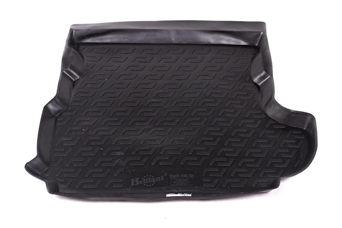 Коврик в багажник Mitsubishi Outlander XL сабвуфер (07-) полиуретан0108010301Коврики производятся индивидуально для каждой модели автомобиля из современного и экологически чистого материала, точно повторяют геометрию пола автомобиля, имеют высокий борт от 4 см до 6 см., обладают повышенной износоустойчивостью, антискользящими свойствами, лишены резкого запаха, сохраняют свои потребительские свойства в широком диапазоне температур (-50 +80 С).