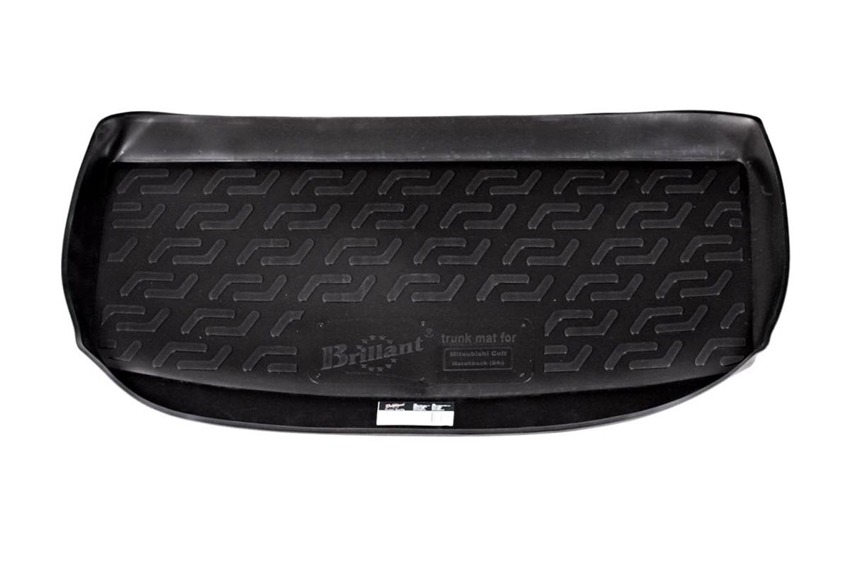 Коврик в багажник Mitsubishi Colt hb (04-) полиуретан0108050101Коврики производятся индивидуально для каждой модели автомобиля из современного и экологически чистого материала, точно повторяют геометрию пола автомобиля, имеют высокий борт от 4 см до 6 см., обладают повышенной износоустойчивостью, антискользящими свойствами, лишены резкого запаха, сохраняют свои потребительские свойства в широком диапазоне температур (-50 +80 С).