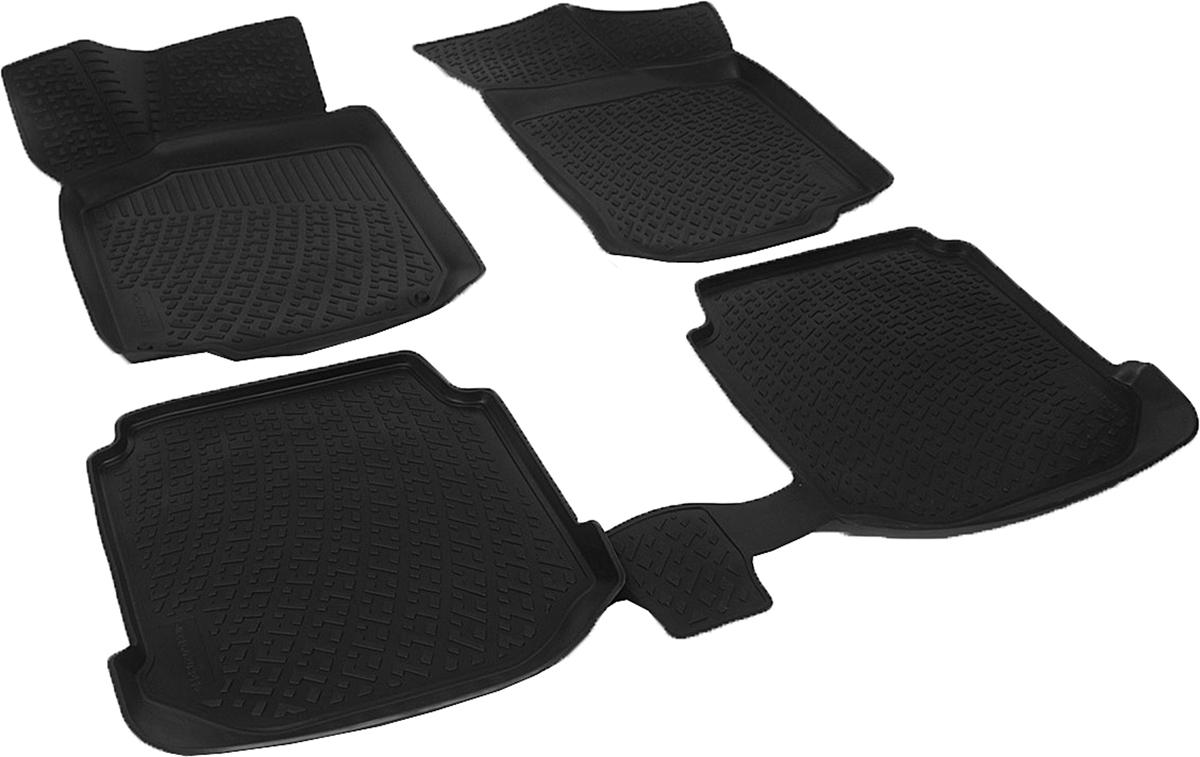 Коврики в салон автомобиля L.Locker, для Skoda Octavia I Tour (96-), 4 шт0216020301Коврики L.Locker производятся индивидуально для каждой модели автомобиля из современного и экологически чистого материала. Изделия точно повторяют геометрию пола автомобиля, имеют высокий борт, обладают повышенной износоустойчивостью, антискользящими свойствами, лишены резкого запаха и сохраняют свои потребительские свойства в широком диапазоне температур (от -50°С до +80°С). Рисунок ковриков специально спроектирован для уменьшения скольжения ног водителя и имеет достаточную глубину, препятствующую свободному перемещению жидкости и грязи на поверхности. Одновременно с этим рисунок не создает дискомфорта при вождении автомобиля. Водительский ковер с предустановленными креплениями фиксируется на штатные места в полу салона автомобиля. Новая технология системы креплений герметична, не дает влаге и грязи проникать внутрь через крепеж на обшивку пола.
