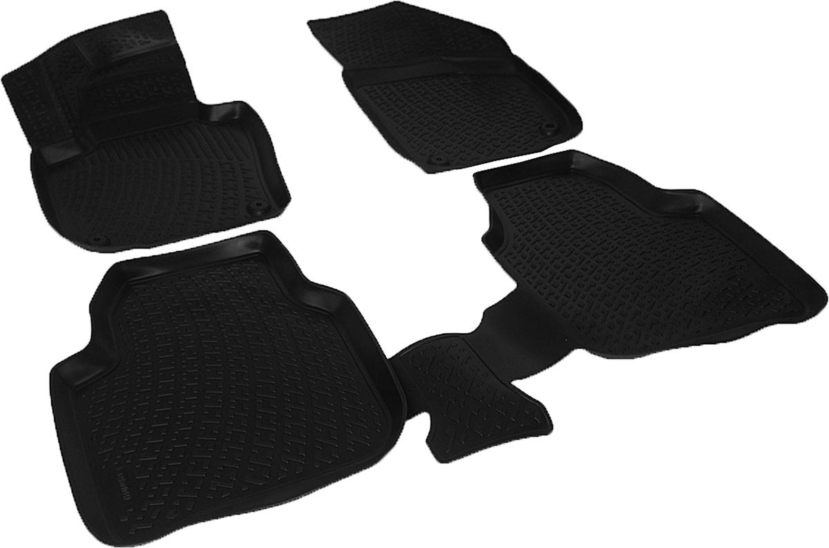 Коврики в салон автомобиля L.Locker, для Skoda Superb (08-) box, 4 шт0216040401Коврики L.Locker производятся индивидуально для каждой модели автомобиля из современного и экологически чистого материала. Изделия точно повторяют геометрию пола автомобиля, имеют высокий борт, обладают повышенной износоустойчивостью, антискользящими свойствами, лишены резкого запаха и сохраняют свои потребительские свойства в широком диапазоне температур (от -50°С до +80°С). Рисунок ковриков специально спроектирован для уменьшения скольжения ног водителя и имеет достаточную глубину, препятствующую свободному перемещению жидкости и грязи на поверхности. Одновременно с этим рисунок не создает дискомфорта при вождении автомобиля. Водительский ковер с предустановленными креплениями фиксируется на штатные места в полу салона автомобиля. Новая технология системы креплений герметична, не дает влаге и грязи проникать внутрь через крепеж на обшивку пола.