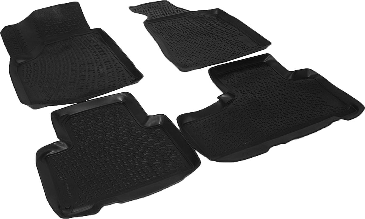 Коврики в салон автомобиля L.Locker, для SsangYong Korando (10-)0218040101Коврики L.Locker производятся индивидуально для каждой модели автомобиля из современного и экологически чистого материала. Изделия точно повторяют геометрию пола автомобиля, имеют высокий борт, обладают повышенной износоустойчивостью, антискользящими свойствами, лишены резкого запаха и сохраняют свои потребительские свойства в широком диапазоне температур (от -50°С до +80°С). Рисунок ковриков специально спроектирован для уменьшения скольжения ног водителя и имеет достаточную глубину, препятствующую свободному перемещению жидкости и грязи на поверхности. Одновременно с этим рисунок не создает дискомфорта при вождении автомобиля. Водительский ковер с предустановленными креплениями фиксируется на штатные места в полу салона автомобиля. Новая технология системы креплений герметична, не дает влаге и грязи проникать внутрь через крепеж на обшивку пола.