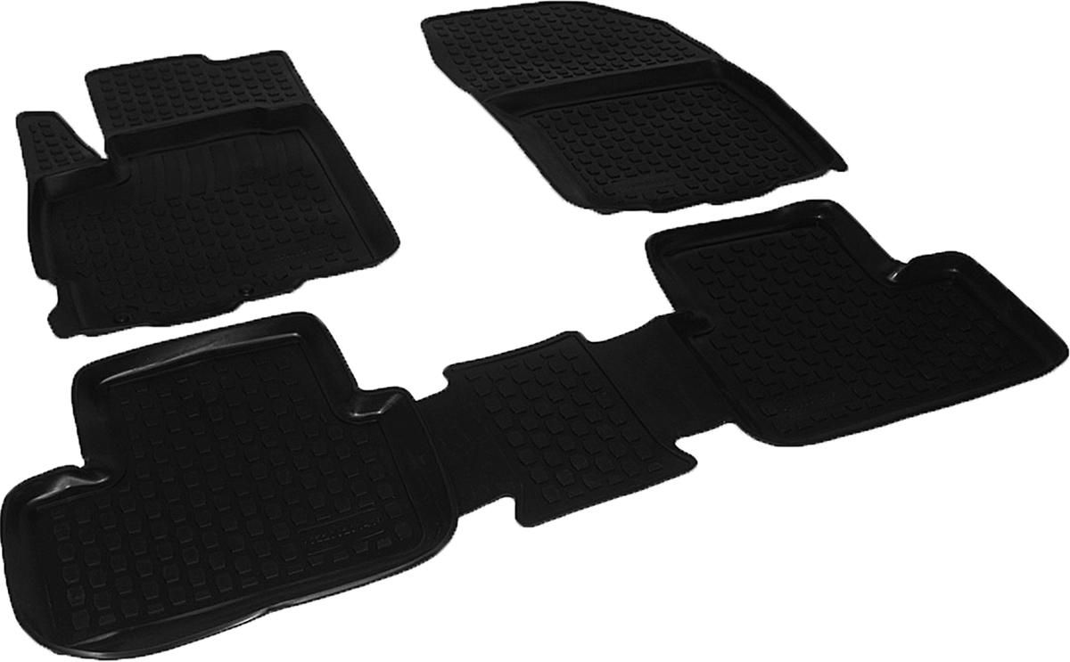 Коврики в салон автомобиля L.Locker, для Peugeot 4008 (12-), 4 шт0220020101Коврики L.Locker производятся индивидуально для каждой модели автомобиля из современного и экологически чистого материала. Изделия точно повторяют геометрию пола автомобиля, имеют высокий борт, обладают повышенной износоустойчивостью, антискользящими свойствами, лишены резкого запаха и сохраняют свои потребительские свойства в широком диапазоне температур (от -50°С до +80°С). Рисунок ковриков специально спроектирован для уменьшения скольжения ног водителя и имеет достаточную глубину, препятствующую свободному перемещению жидкости и грязи на поверхности. Одновременно с этим рисунок не создает дискомфорта при вождении автомобиля. Водительский ковер с предустановленными креплениями фиксируется на штатные места в полу салона автомобиля. Новая технология системы креплений герметична, не дает влаге и грязи проникать внутрь через крепеж на обшивку пола.