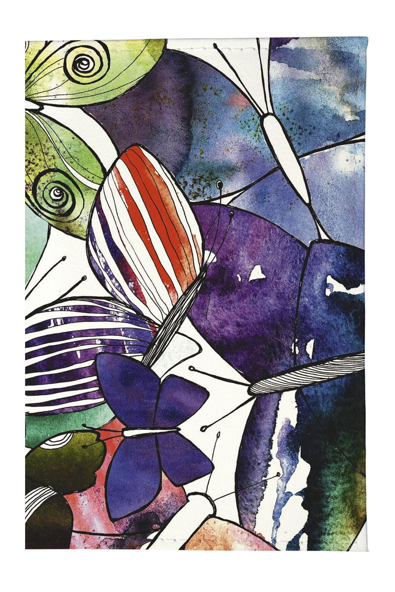 Визитница женская Mitya Veselkov Акварельные бабочки, цвет: фиолетовый. VIZAM169VIZAM169Качественная визитница Mitya Veselkov Акварельные бабочки выполнена из легкого и прочного ПВХ, который надежно защищает важные документы от пыли и влаги. Рисунок нанесён специальным образом и защищён от стирания. Изделие раскладывается пополам. Яркий современный дизайн, который является основной фишкой данной модели, будет радовать глаз.