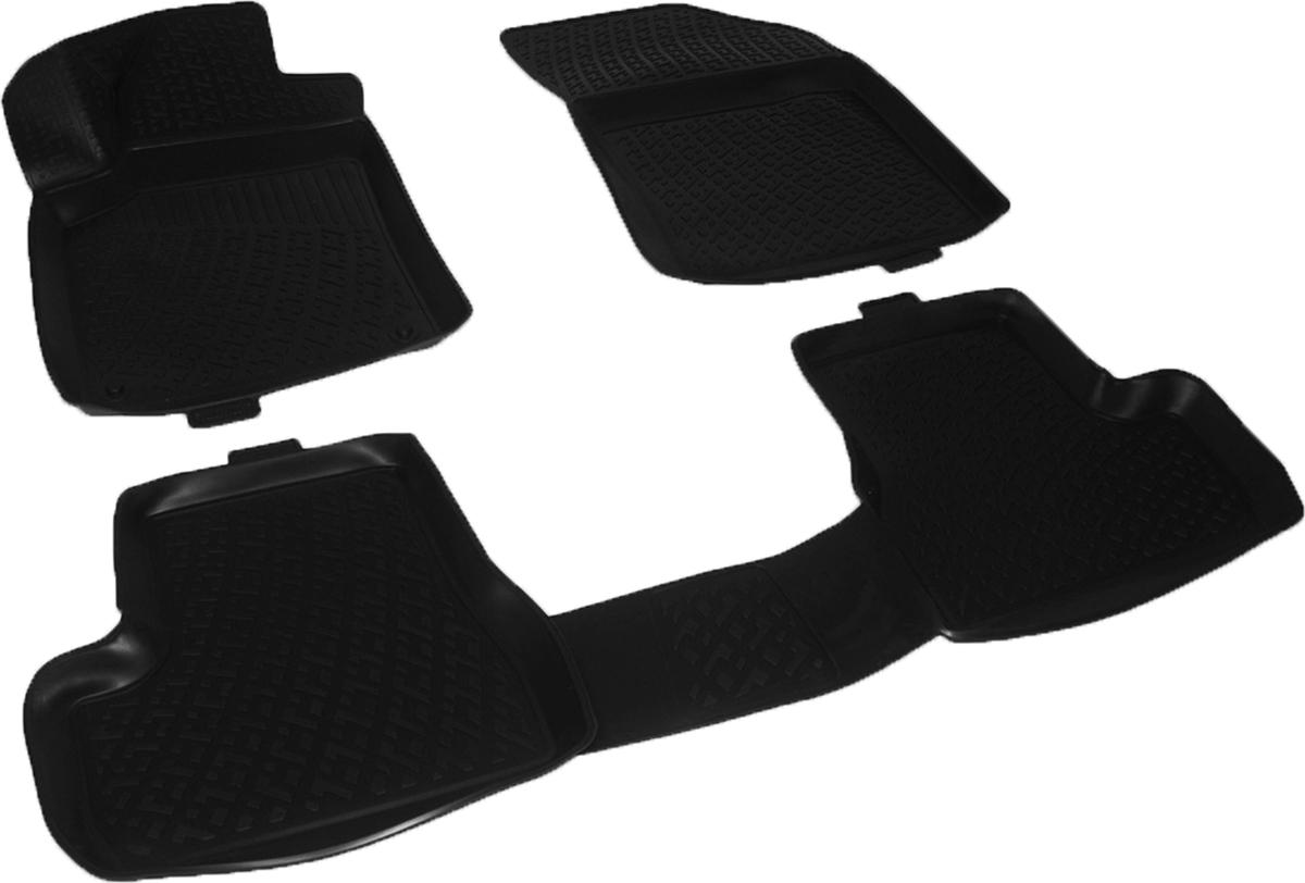 Коврики в салон автомобиля L.Locker, для Citroen C3 mkII hb (09-)0222030201Коврики L.Locker производятся индивидуально для каждой модели автомобиля из современного и экологически чистого материала. Изделия точно повторяют геометрию пола автомобиля, имеют высокий борт, обладают повышенной износоустойчивостью, антискользящими свойствами, лишены резкого запаха и сохраняют свои потребительские свойства в широком диапазоне температур (от -50°С до +80°С). Рисунок ковриков специально спроектирован для уменьшения скольжения ног водителя и имеет достаточную глубину, препятствующую свободному перемещению жидкости и грязи на поверхности. Одновременно с этим рисунок не создает дискомфорта при вождении автомобиля. Водительский ковер с предустановленными креплениями фиксируется на штатные места в полу салона автомобиля. Новая технология системы креплений герметична, не дает влаге и грязи проникать внутрь через крепеж на обшивку пола.
