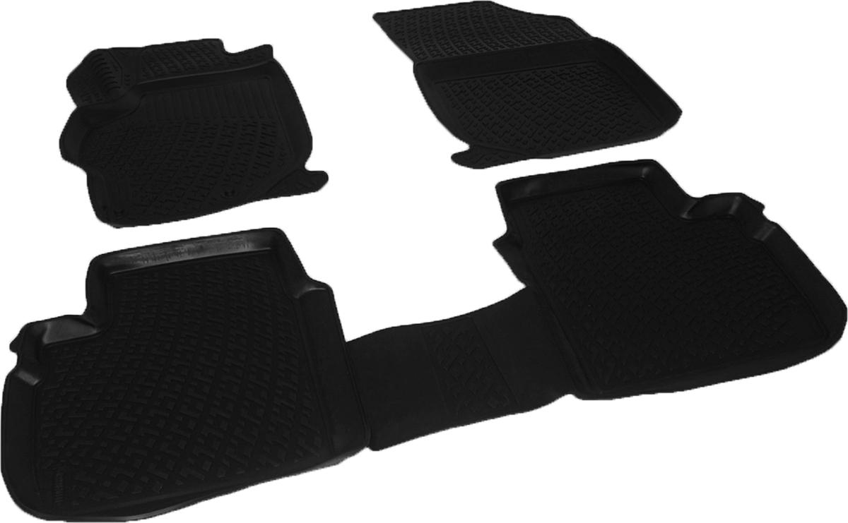 Коврики в салон автомобиля L.Locker, для Citroen C-Elysse sd (12-)0222070101Коврики L.Locker производятся индивидуально для каждой модели автомобиля из современного и экологически чистого материала. Изделия точно повторяют геометрию пола автомобиля, имеют высокий борт, обладают повышенной износоустойчивостью, антискользящими свойствами, лишены резкого запаха и сохраняют свои потребительские свойства в широком диапазоне температур (от -50°С до +80°С). Рисунок ковриков специально спроектирован для уменьшения скольжения ног водителя и имеет достаточную глубину, препятствующую свободному перемещению жидкости и грязи на поверхности. Одновременно с этим рисунок не создает дискомфорта при вождении автомобиля. Водительский ковер с предустановленными креплениями фиксируется на штатные места в полу салона автомобиля. Новая технология системы креплений герметична, не дает влаге и грязи проникать внутрь через крепеж на обшивку пола.