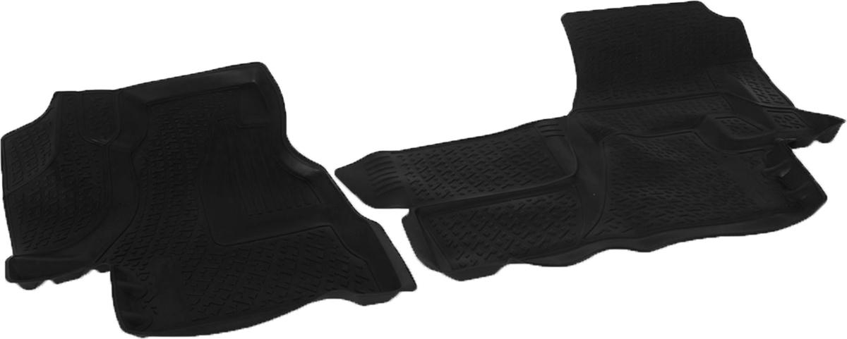 Коврики в салон автомобиля L.Locker, для Mercedes-Benz Sprinter Classic (13-)0227050201Коврики L.Locker производятся индивидуально для каждой модели автомобиля из современного и экологически чистого материала. Изделия точно повторяют геометрию пола автомобиля, имеют высокий борт, обладают повышенной износоустойчивостью, антискользящими свойствами, лишены резкого запаха и сохраняют свои потребительские свойства в широком диапазоне температур (от -50°С до +80°С). Рисунок ковриков специально спроектирован для уменьшения скольжения ног водителя и имеет достаточную глубину, препятствующую свободному перемещению жидкости и грязи на поверхности. Одновременно с этим рисунок не создает дискомфорта при вождении автомобиля. Водительский ковер с предустановленными креплениями фиксируется на штатные места в полу салона автомобиля. Новая технология системы креплений герметична, не дает влаге и грязи проникать внутрь через крепеж на обшивку пола.