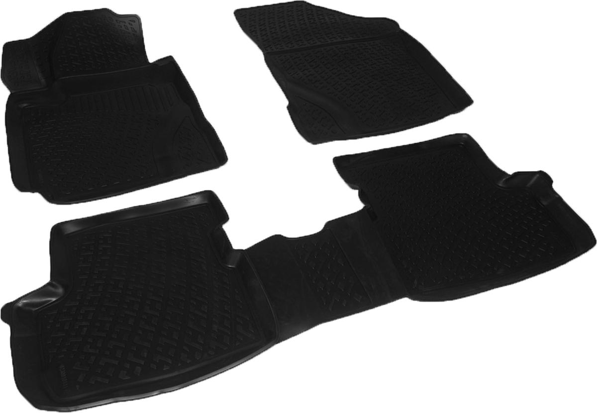 Коврики в салон автомобиля L.Locker, для Great Wall Hover M4 (13-)230010401Коврики L.Locker производятся индивидуально для каждой модели автомобиля из современного и экологически чистого материала. Изделия точно повторяют геометрию пола автомобиля, имеют высокий борт, обладают повышенной износоустойчивостью, антискользящими свойствами, лишены резкого запаха и сохраняют свои потребительские свойства в широком диапазоне температур (от -50°С до +80°С). Рисунок ковриков специально спроектирован для уменьшения скольжения ног водителя и имеет достаточную глубину, препятствующую свободному перемещению жидкости и грязи на поверхности. Одновременно с этим рисунок не создает дискомфорта при вождении автомобиля. Водительский ковер с предустановленными креплениями фиксируется на штатные места в полу салона автомобиля. Новая технология системы креплений герметична, не дает влаге и грязи проникать внутрь через крепеж на обшивку пола.