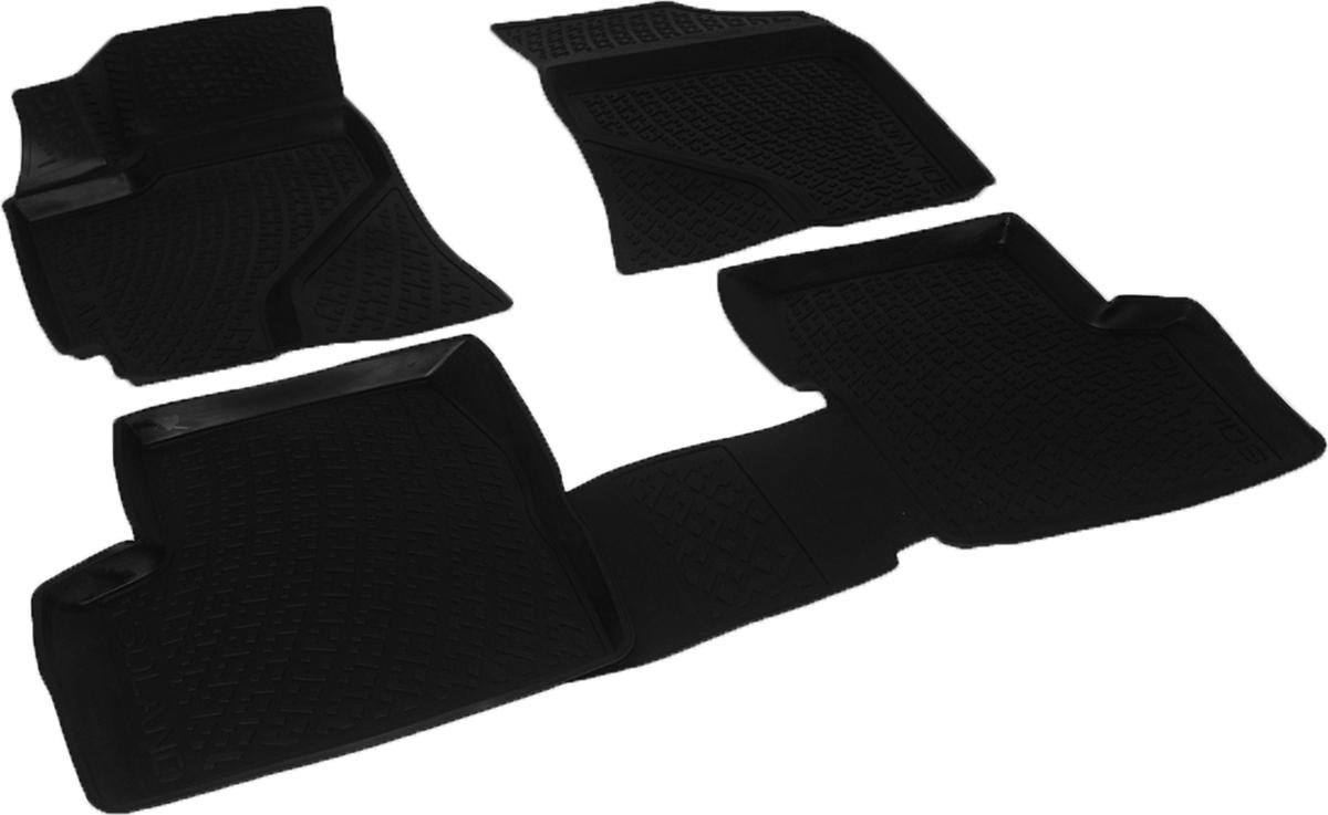 Коврики в салон автомобиля L.Locker, для Lifan Solano 620 (08-), 4 шт0231020101Коврики L.Locker производятся индивидуально для каждой модели автомобиля из современного и экологически чистого материала. Изделия точно повторяют геометрию пола автомобиля, имеют высокий борт, обладают повышенной износоустойчивостью, антискользящими свойствами, лишены резкого запаха и сохраняют свои потребительские свойства в широком диапазоне температур (от -50°С до +80°С). Рисунок ковриков специально спроектирован для уменьшения скольжения ног водителя и имеет достаточную глубину, препятствующую свободному перемещению жидкости и грязи на поверхности. Одновременно с этим рисунок не создает дискомфорта при вождении автомобиля. Водительский ковер с предустановленными креплениями фиксируется на штатные места в полу салона автомобиля. Новая технология системы креплений герметична, не дает влаге и грязи проникать внутрь через крепеж на обшивку пола.