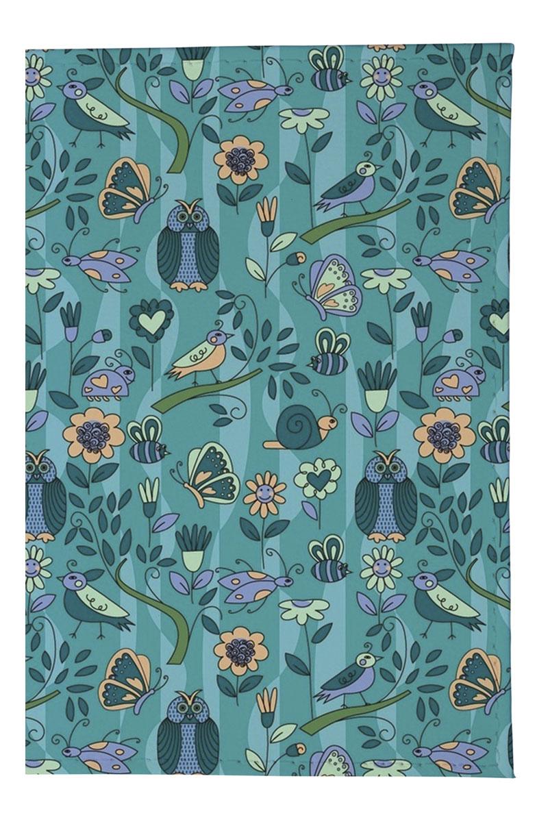 Mitya Veselkov Обложка для паспорта Голубой принт с птичками. OZAM160OZAM160