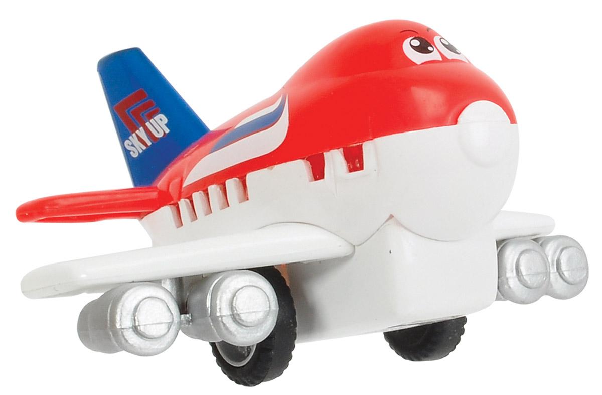 Dickie Toys Веселый самолет инерционный цвет красный белый ( 3345475_красный, белый )