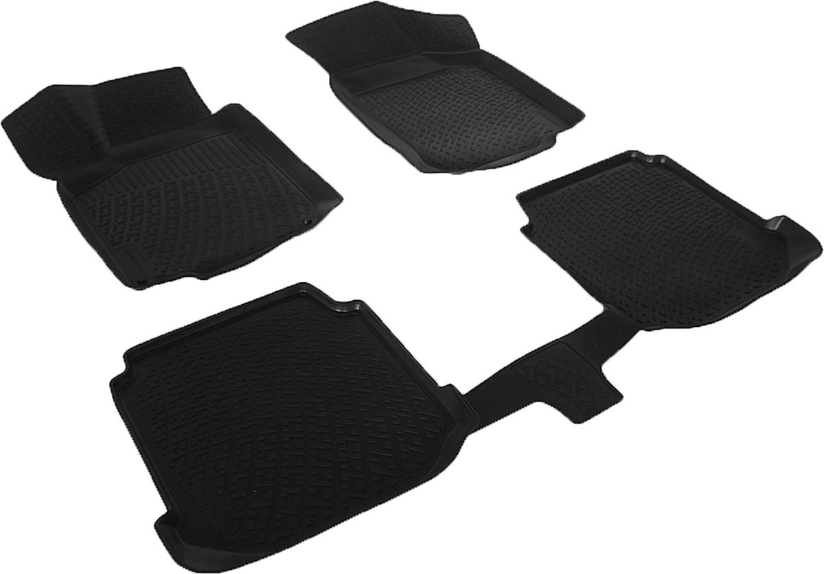 Коврики в салон автомобиля L.Locker, для Audi A3 (8L) (96-03), 4 шт0200020201Коврики L.Locker производятся индивидуально для каждой модели автомобиля из современного и экологически чистого материала. Изделия точно повторяют геометрию пола автомобиля, имеют высокий борт, обладают повышенной износоустойчивостью, антискользящими свойствами, лишены резкого запаха и сохраняют свои потребительские свойства в широком диапазоне температур (от -50°С до +80°С). Рисунок ковриков специально спроектирован для уменьшения скольжения ног водителя и имеет достаточную глубину, препятствующую свободному перемещению жидкости и грязи на поверхности. Одновременно с этим рисунок не создает дискомфорта при вождении автомобиля. Водительский ковер с предустановленными креплениями фиксируется на штатные места в полу салона автомобиля. Новая технология системы креплений герметична, не дает влаге и грязи проникать внутрь через крепеж на обшивку пола.