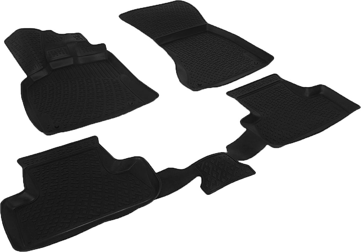 Коврики в салон автомобиля L.Locker, для Audi Q5 (08-12)0200060101Коврики L.Locker производятся индивидуально для каждой модели автомобиля из современного и экологически чистого материала. Изделия точно повторяют геометрию пола автомобиля, имеют высокий борт, обладают повышенной износоустойчивостью, антискользящими свойствами, лишены резкого запаха и сохраняют свои потребительские свойства в широком диапазоне температур (от -50°С до +80°С). Рисунок ковриков специально спроектирован для уменьшения скольжения ног водителя и имеет достаточную глубину, препятствующую свободному перемещению жидкости и грязи на поверхности. Одновременно с этим рисунок не создает дискомфорта при вождении автомобиля. Водительский ковер с предустановленными креплениями фиксируется на штатные места в полу салона автомобиля. Новая технология системы креплений герметична, не дает влаге и грязи проникать внутрь через крепеж на обшивку пола.