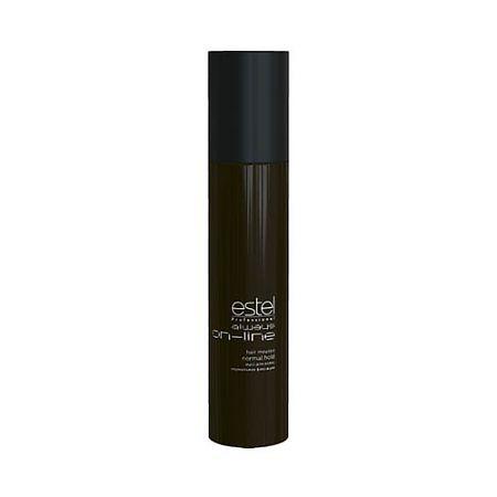 Estel Always On-Line Мусс для волос нормальная фиксация 300 млOL.5Estel Always On-Line Мусс для волос нормальная фиксация обеспечивает волосам длительную фиксацию и объём. Придает укладке чёткое очертание и фиксирует локоны. Делает волосы пластичными и податливыми к укладке. Профессиональная формула с витамином Е, провитамином B5 и экстрактом личи ухаживает за кожей головы, увлажняет, укрепляет волосы и придаёт им естественный блеск. Обладает антистатическим эффектом.