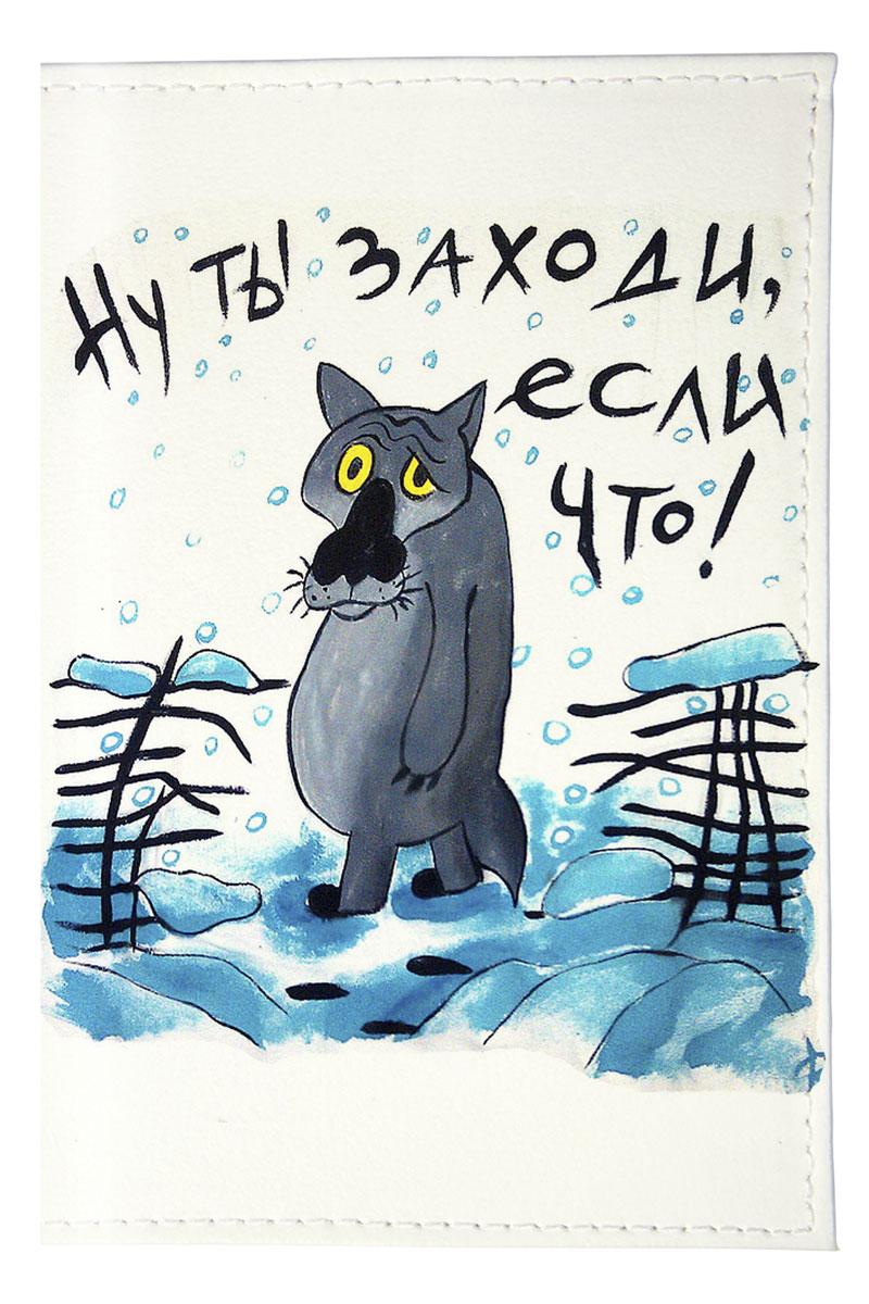 Mitya Veselkov Обложка для автодокументов Волк из мультика. AUTOZAM172AUTOZAM172