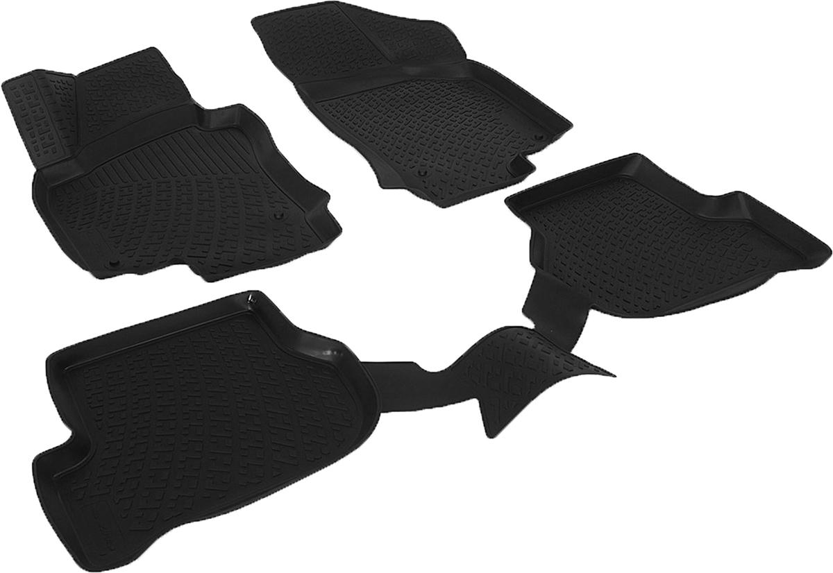 Коврики в салон автомобиля L.Locker, для Volkswagen Golf V (03-08), 4 шт0201050101Коврики L.Locker производятся индивидуально для каждой модели автомобиля из современного и экологически чистого материала. Изделия точно повторяют геометрию пола автомобиля, имеют высокий борт, обладают повышенной износоустойчивостью, антискользящими свойствами, лишены резкого запаха и сохраняют свои потребительские свойства в широком диапазоне температур (от -50°С до +80°С). Рисунок ковриков специально спроектирован для уменьшения скольжения ног водителя и имеет достаточную глубину, препятствующую свободному перемещению жидкости и грязи на поверхности. Одновременно с этим рисунок не создает дискомфорта при вождении автомобиля. Водительский ковер с предустановленными креплениями фиксируется на штатные места в полу салона автомобиля. Новая технология системы креплений герметична, не дает влаге и грязи проникать внутрь через крепеж на обшивку пола.