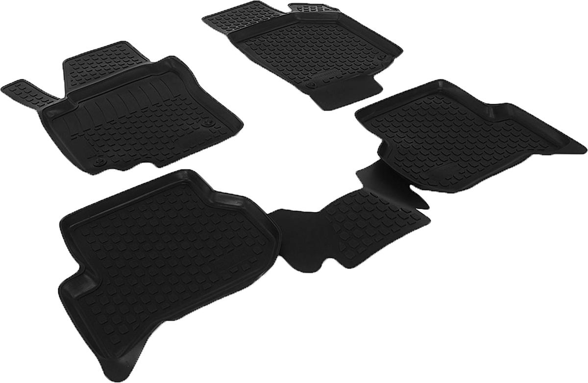 Коврики в салон автомобиля L.Locker, для Volkswagen Golf Plus (04-), 4 шт0201050301Коврики L.Locker производятся индивидуально для каждой модели автомобиля из современного и экологически чистого материала. Изделия точно повторяют геометрию пола автомобиля, имеют высокий борт, обладают повышенной износоустойчивостью, антискользящими свойствами, лишены резкого запаха и сохраняют свои потребительские свойства в широком диапазоне температур (от -50°С до +80°С). Рисунок ковриков специально спроектирован для уменьшения скольжения ног водителя и имеет достаточную глубину, препятствующую свободному перемещению жидкости и грязи на поверхности. Одновременно с этим рисунок не создает дискомфорта при вождении автомобиля. Водительский ковер с предустановленными креплениями фиксируется на штатные места в полу салона автомобиля. Новая технология системы креплений герметична, не дает влаге и грязи проникать внутрь через крепеж на обшивку пола.