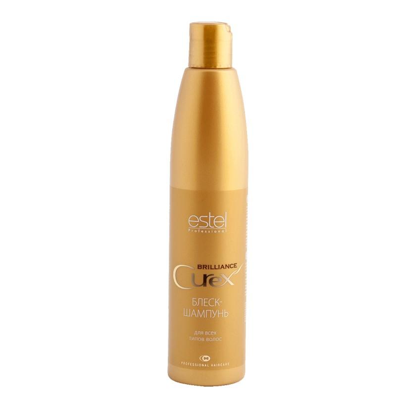 Estel Curex Brilliance Блеск-шампунь для волос 300 мл