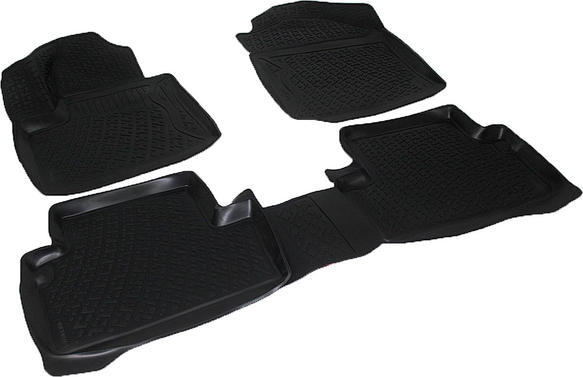 Коврики в салон автомобиля L.Locker, для Ford Tourneo Connect (03-)0202140101Коврики L.Locker производятся индивидуально для каждой модели автомобиля из современного и экологически чистого материала. Изделия точно повторяют геометрию пола автомобиля, имеют высокий борт, обладают повышенной износоустойчивостью, антискользящими свойствами, лишены резкого запаха и сохраняют свои потребительские свойства в широком диапазоне температур (от -50°С до +80°С). Рисунок ковриков специально спроектирован для уменьшения скольжения ног водителя и имеет достаточную глубину, препятствующую свободному перемещению жидкости и грязи на поверхности. Одновременно с этим рисунок не создает дискомфорта при вождении автомобиля. Водительский ковер с предустановленными креплениями фиксируется на штатные места в полу салона автомобиля. Новая технология системы креплений герметична, не дает влаге и грязи проникать внутрь через крепеж на обшивку пола.