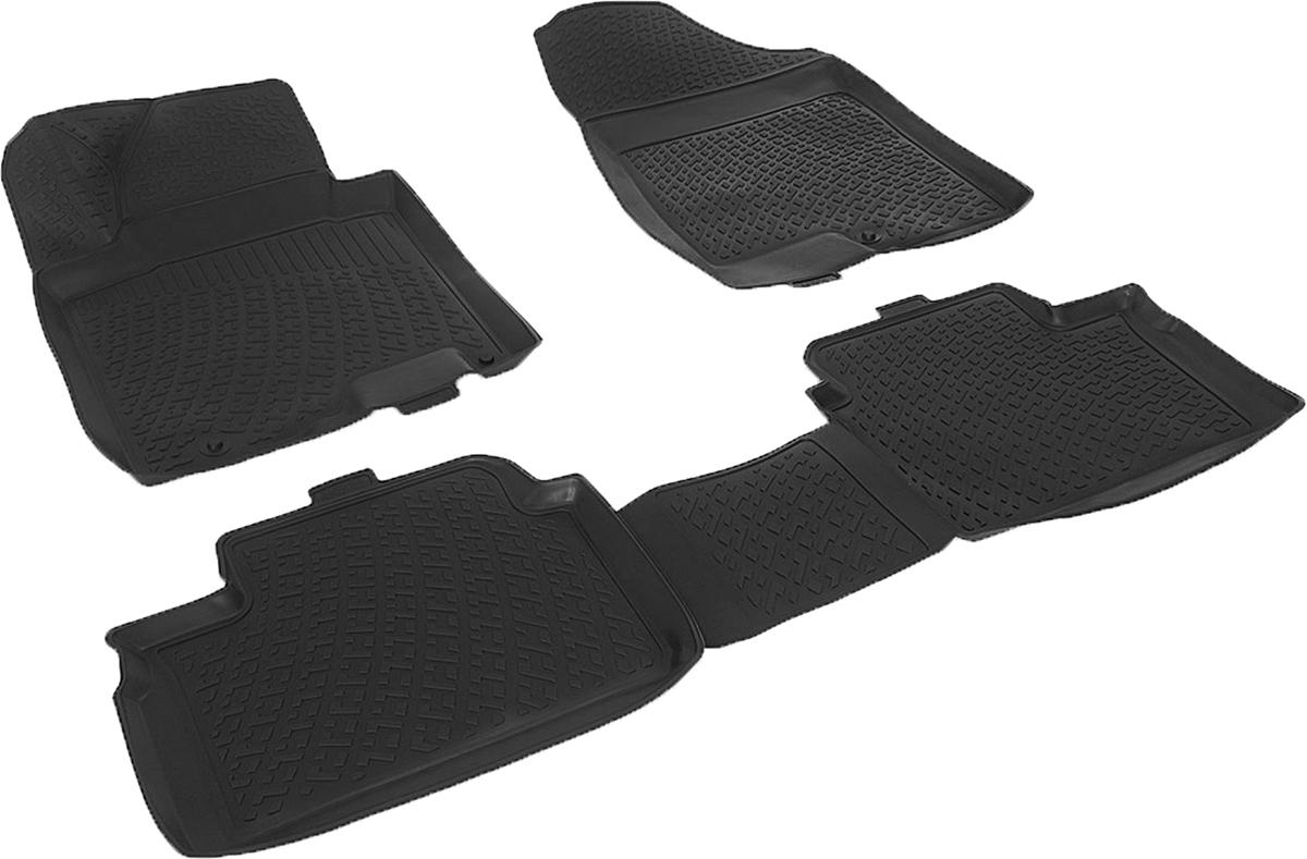 Коврики в салон автомобиля L.Locker, для Kia Ceed III SW (12-), 4 шт0203080401Коврики L.Locker производятся индивидуально для каждой модели автомобиля из современного и экологически чистого материала. Изделия точно повторяют геометрию пола автомобиля, имеют высокий борт, обладают повышенной износоустойчивостью, антискользящими свойствами, лишены резкого запаха и сохраняют свои потребительские свойства в широком диапазоне температур (от -50°С до +80°С). Рисунок ковриков специально спроектирован для уменьшения скольжения ног водителя и имеет достаточную глубину, препятствующую свободному перемещению жидкости и грязи на поверхности. Одновременно с этим рисунок не создает дискомфорта при вождении автомобиля. Водительский ковер с предустановленными креплениями фиксируется на штатные места в полу салона автомобиля. Новая технология системы креплений герметична, не дает влаге и грязи проникать внутрь через крепеж на обшивку пола.