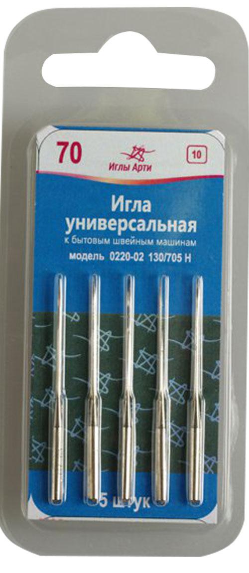 Иглы для швейных машин Арт,№ 70 уп,.5шт. 162373162373