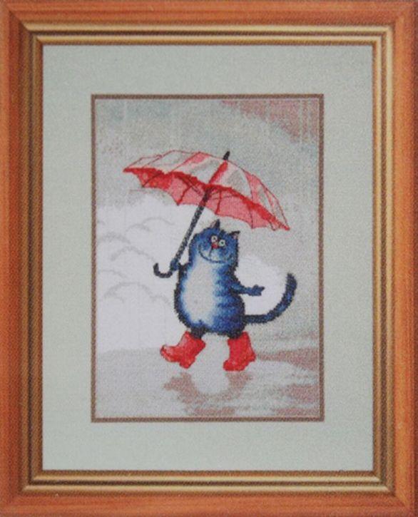 Набор для вышивания Hobby&Pro Кот в сапогах 20 x 28 см484191