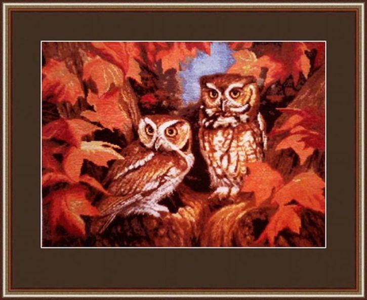 Набор для вышивания Hobby&Pro Стражи осеннего леса 60 x 60 см486803