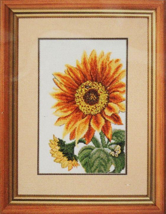 Набор для вышивания Hobby&Pro Цветок солнца 16 x 27 см582029