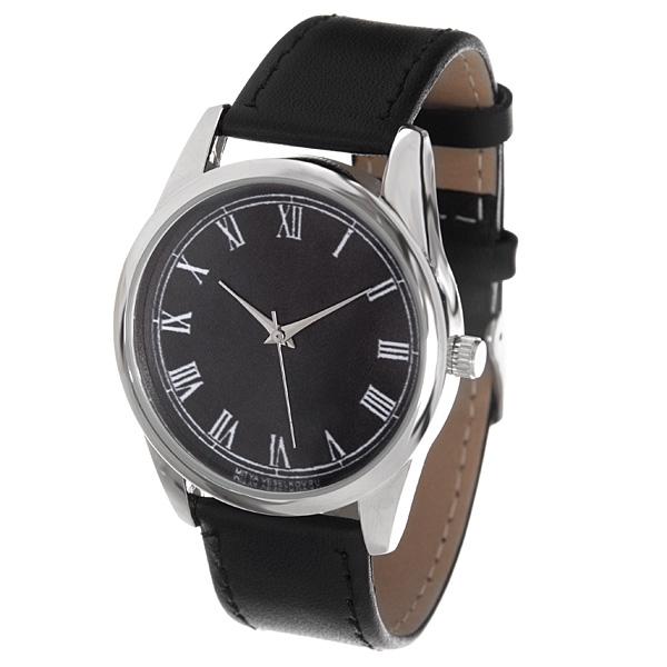 Часы наручные Mitya Veselkov Куранты на черном MV-132MV-132