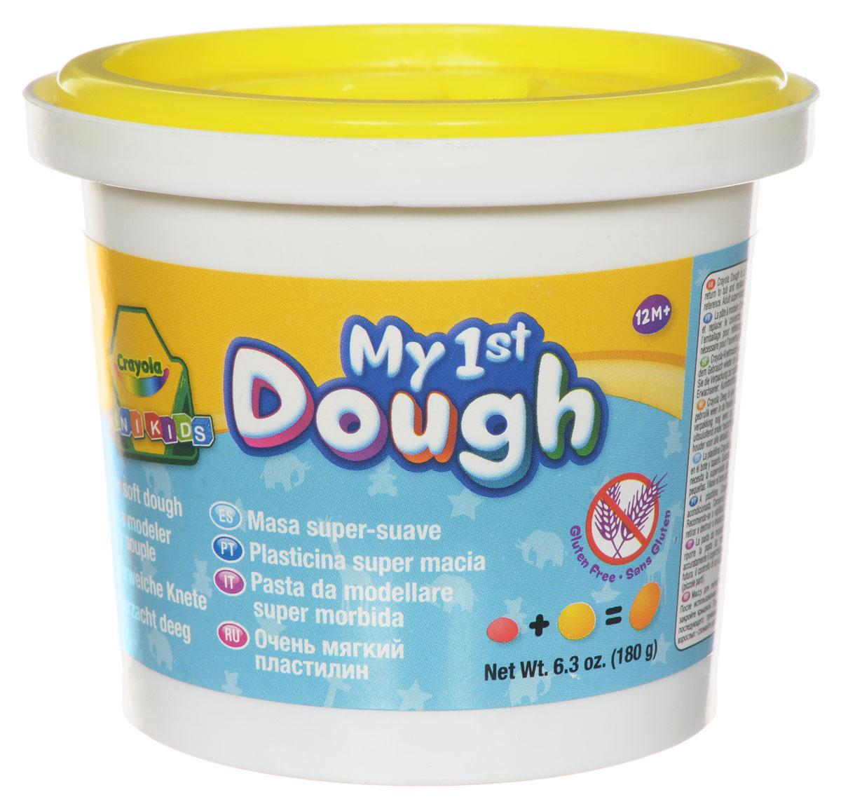 Crayola Масса для лепки My 1st Dough Цыпленок цвет желтый