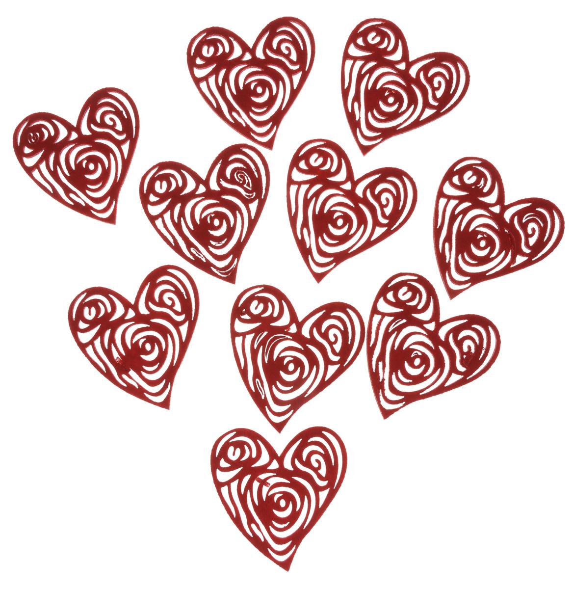 Украшение декоративное RTO Сердечки, 10 штHCQ05-1240Оригинальное украшение RTO Сердечки, изготовленное из фетра, предназначено не только для оформления интерьера, но так же с помощью него можно создать отдельное декоративное изделие. Украшение сделано в форме сердца. Декоративное украшение послужит приятным и полезным сувениром для близких и знакомых и, несомненно, доставит массу положительных эмоций своему обладателю. Размер декоративного элемента: 9 х 8 см.