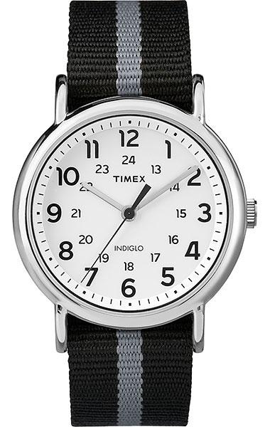 Наручные часы мужские Timex, цвет: серый металлик, черный. TW2P72200