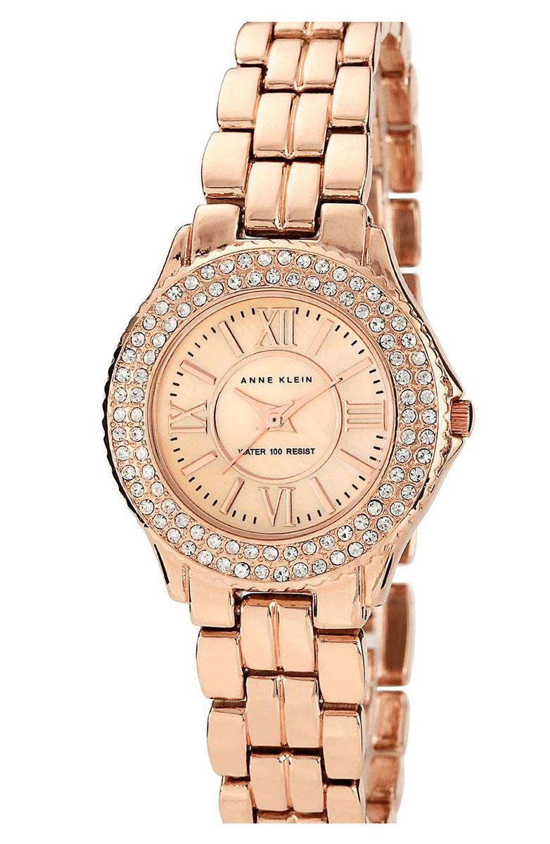 Наручные часы женские Anne Klein, цвет: золотистый, розовый. 9536RMRG9536RMRGОригинальные и качественные часы Anne Klein