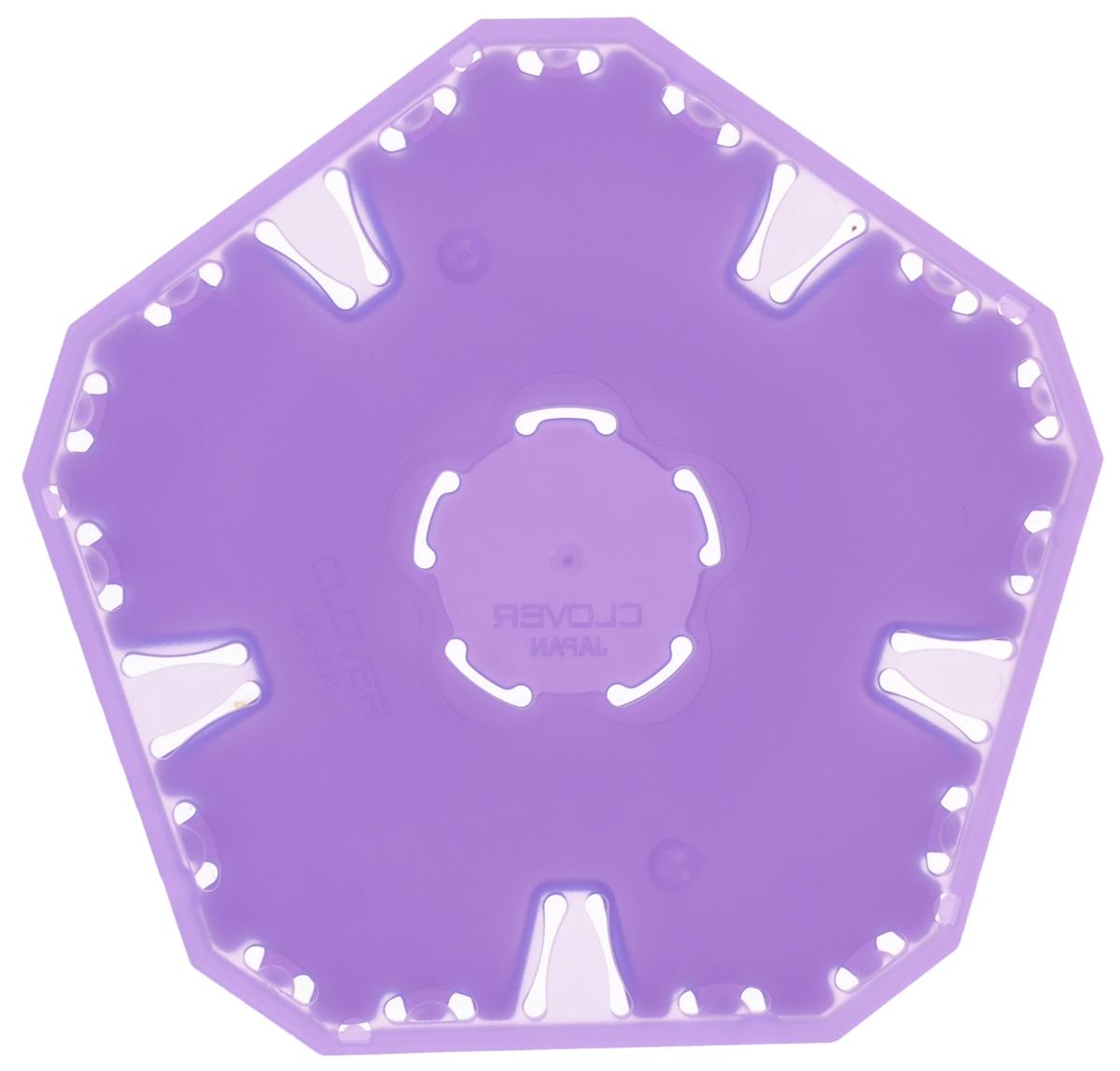 Трафарет для изготовления украшений Clover Йо-йо, 9,5 х 9 см8706Трафарет для изготовления украшений Clover Йо-йо выполнен из высококачественного полипропилена. Такое изделие позволит быстро и легко изготовить украшение Йо-йо. Йо-йо - это определенным образом задрапированные круги из ткани, традиционно используемые в квилтинге, аппликации и пэчворке. Эти круги могут быть любого диаметра и фактуры, плоские или объемные, с декором и без него. Внутри упаковки есть детальная инструкция по изготовлению данного украшения. Размер шаблона: 9,5 х 9 см. Размер готового изделия: 35 мм.
