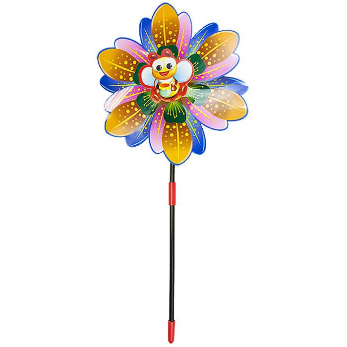 Zilmer Ветрячок с 1 вертушкойZIL1810-020Ветрячки - популярное летнее развлечение на свежем воздухе. Яркие лепесточки начинают забавно крутиться даже от малейшего ветерка. Уважаемые клиенты! Обращаем ваше внимание на ассортимент в дизайне товара. Поставка возможна в зависимости от наличия на складе.