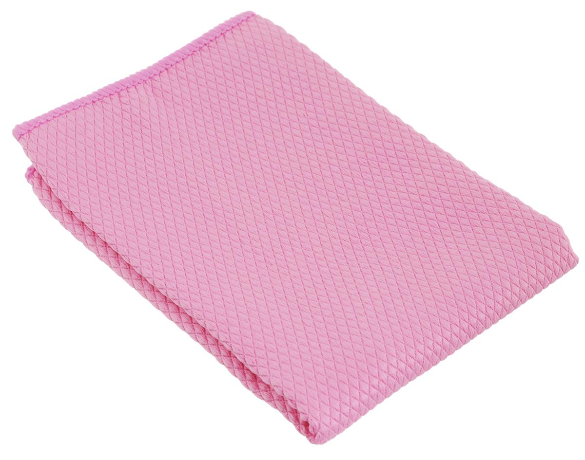 Салфетка чистящая Sapfire Cleaning X-treme Сloth, цвет: розовый, 35 х 40 см3023-SFM_РозовыйСалфетка Sapfire Cleaning X-treme Сloth предназначена для бережной очистки от сильных загрязнений. Великолепно удаляет пыль и грязь с любой поверхности. Клиновидные микроскопические волокна захватывают и легко удерживают частички пыли, жировой и никотиновый налет, микроорганизмы, в том числе болезнетворные и вызывающие аллергию. Материал салфетки: микрофибра (85% полиэстер и 15% полиамид) - обладает уникальной способностью быстро впитывать большой объем жидкости (в 8 раз больше собственной массы). Салфетка великолепно моет и сушит. Протертая поверхность становится идеально чистой, сухой, блестящей, без разводов и ворсинок. Размер салфетки: 35 х 40 см.