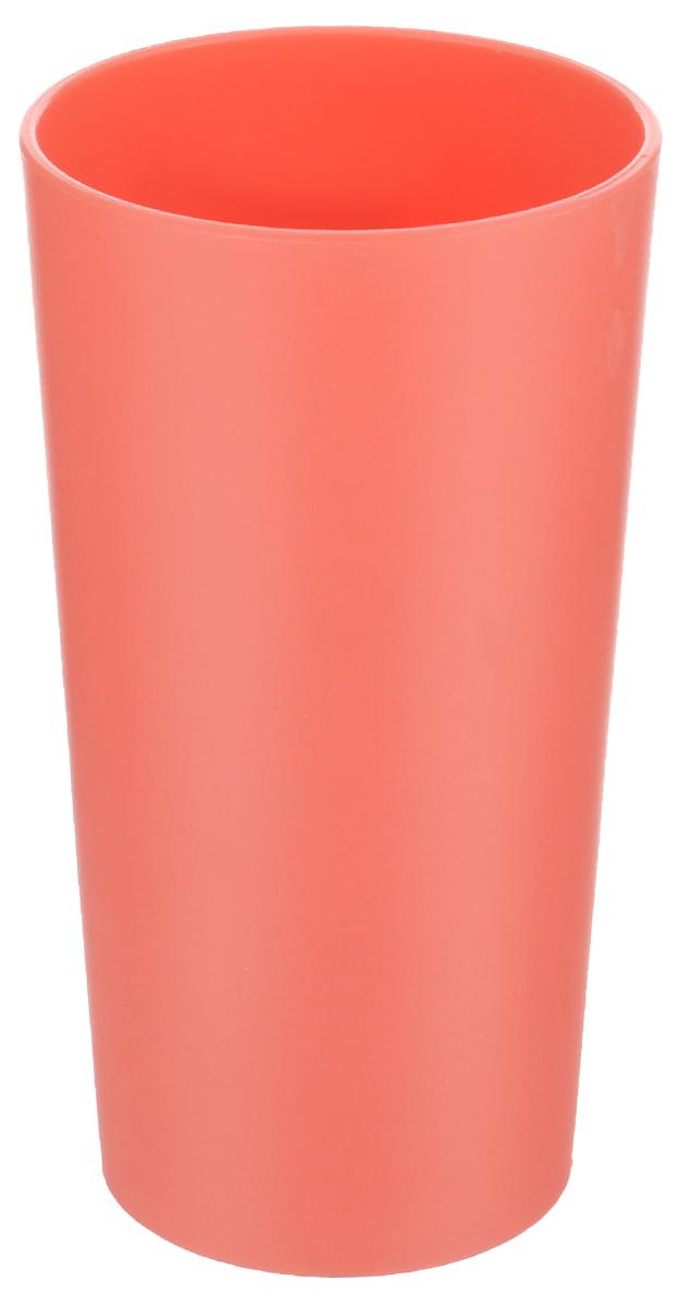 Стакан Ucsan, цвет: коралловый, 430 млM-213_коралловыйСтакан Ucsan изготовлен из прочного высококачественного полипропилена. Изделие предназначено для воды, сока и других напитков. Стакан сочетает в себе яркий дизайн и функциональность. Благодаря такому стакану пить напитки будет еще вкуснее. Стакан Ucsan можно использовать дома, на даче или на пикнике. Можно использовать в посудомоечной машине и микроволновой печи. Диаметр стакана (по верхнему краю): 7,5 см. Высота стакана: 14 см. Диаметр основания: 6 см.